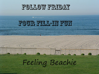 Follow Friday Four Fill-In Fun