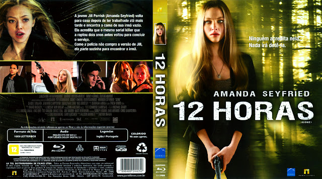 Capa Blu-ray 12 Horas