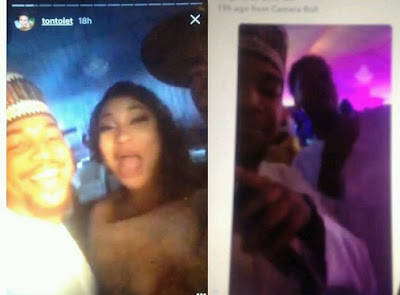 Tonto Dikeh finds true love with a certain younger cute guy, Raphael (Photos)