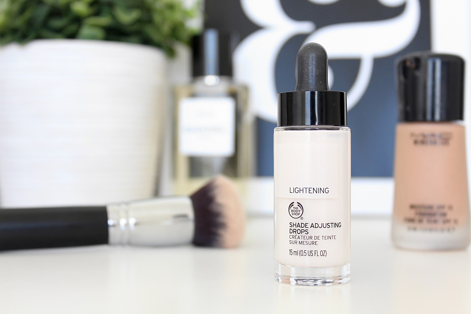 The Body Shop Lightening Shade Adjusting Drops Review - Create Your Perfect Foundation Shade