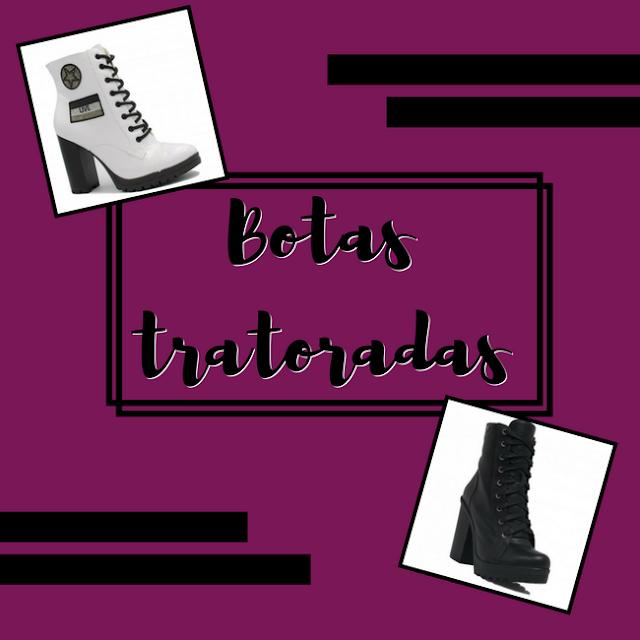 Capa: botas tratoradas da loja Zariff