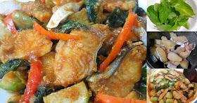 แจกสูตรผัดเผ็ดปลาเผาะใบยี่หร่า ปลาแม่น้ำโขงเนื้ออร่อย