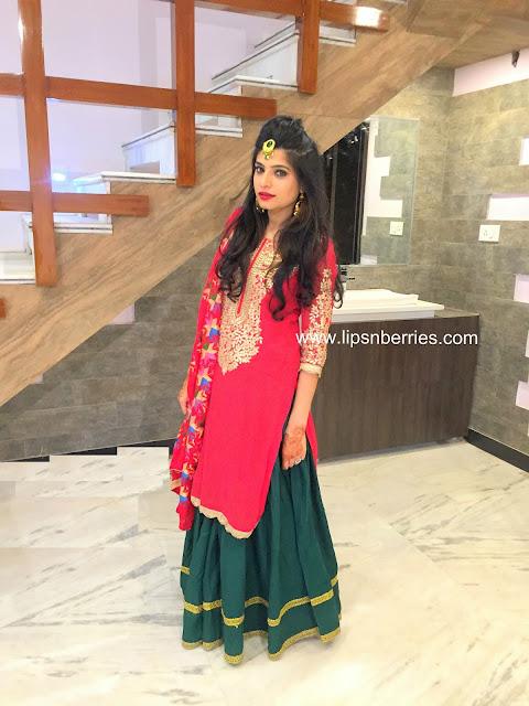 jaago lady sangeet punjabi outfit