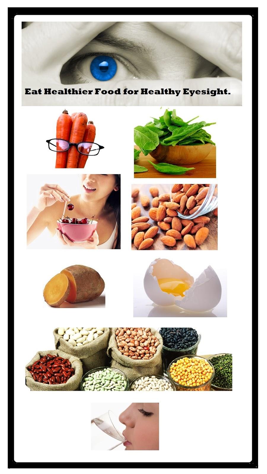 Eat Healthier Food For Healthy Eyesight Sexual Health