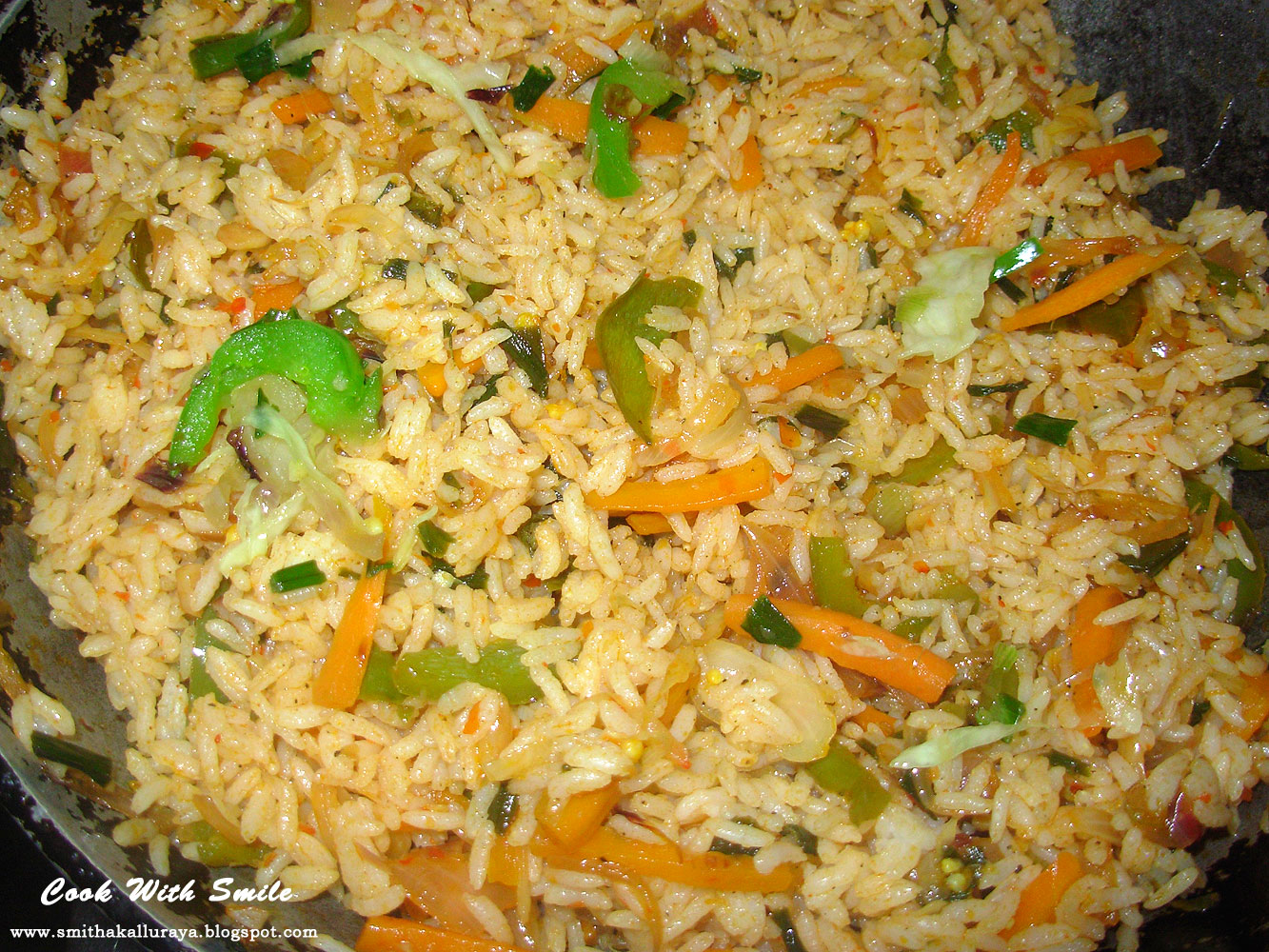 SCHEZWAN FRIED RICE RECIPE / VEG SCHEZWAN FRIED RICE ...