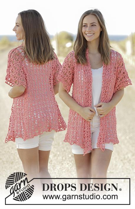 Ergahandmade Crochet Lace Jacket Diagrams Free Pattern