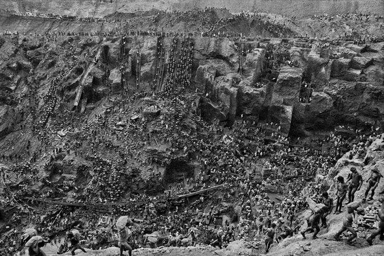 Las minas de oro de Serra Pelada