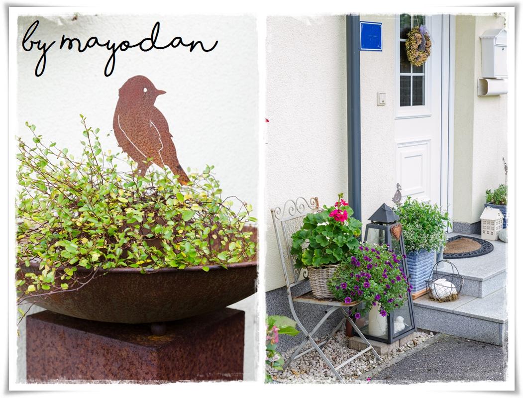 Herbst vor dem haus mayodans home garden crafts - Herbstdeko vor dem haus ...