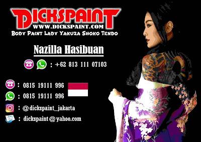Body Painting Lady Yakuza Jakarta Indonesia