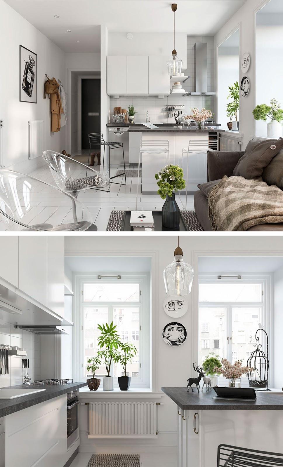 Decoração apartamento clean