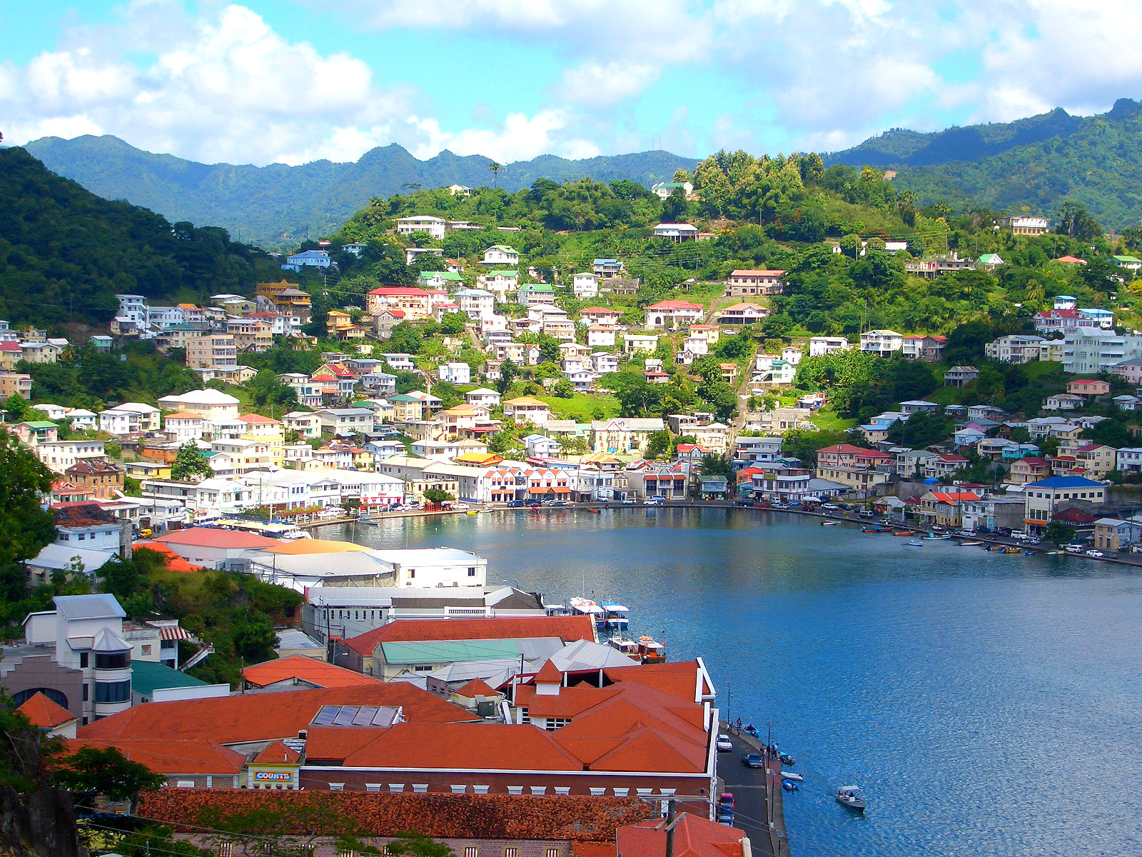 The history of Fort George, St  George's, Grenada