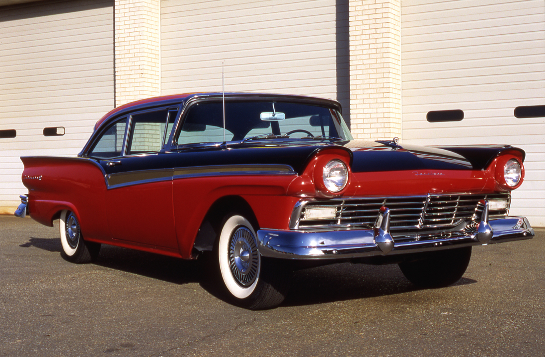 Of those 39843 were the fairlane 500 two door club sedan model like the examples illustrated here
