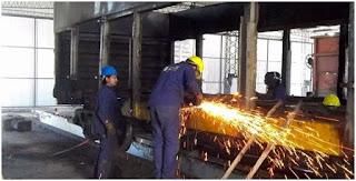 Nuevo operador en los talleres ferroviarios de Justo Daract