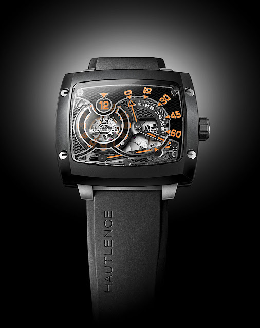 Hautlence Avant-garde Retrograde Watch black