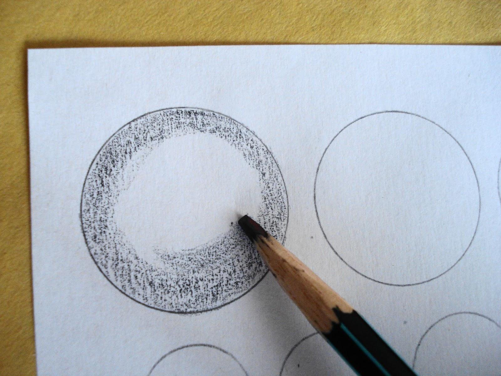 EJERCICIOS DE SOMBREADO   Cómo hacer dibujos