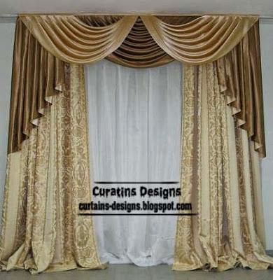10 Top Luxury drapes curtain designsUnique drapery styles ideas