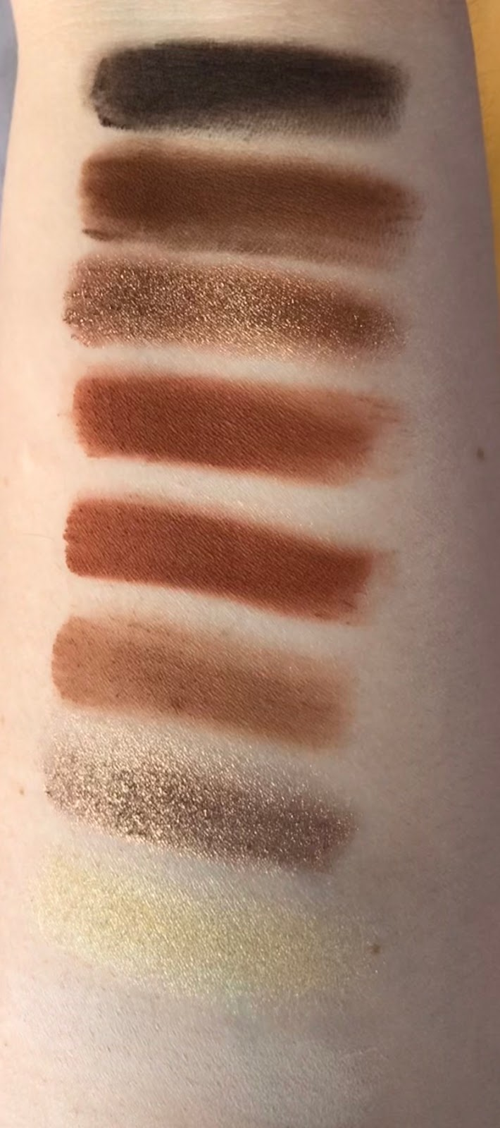 Swatches CoverGIrl Reverence Palette