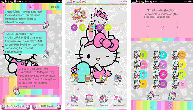 Oppo Theme: Hello Kitty Easter Egg Theme