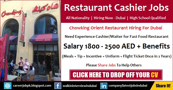 Chowking Orient Restaurant Careers