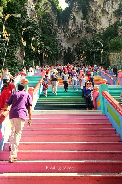 Batu Caves Kuala Lumpur Rainbow