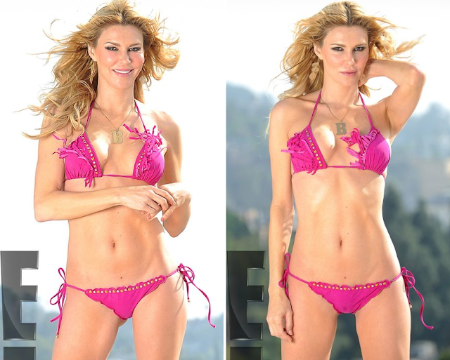 Brandi Glanville's Sexy Shoot in Luli Fama Swimwear