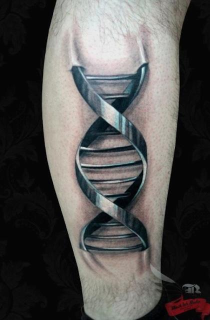 Metallic Tattoo Ink: Genotopia