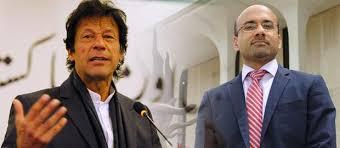 Atif Mian Qadiani and Imran Khan