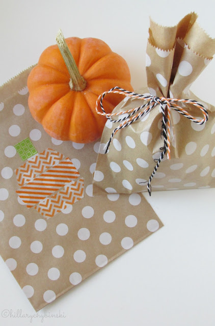 Simple Homemade Halloween Treat Bags