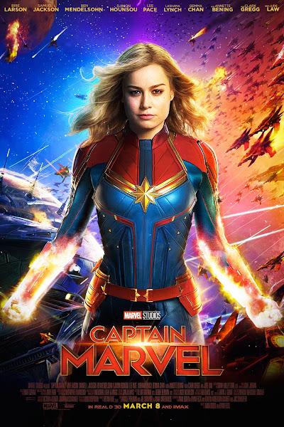 Poster of Captain Marvel (2019) Dual Audio [Hindi-English] 720p BluRay ESubs Download