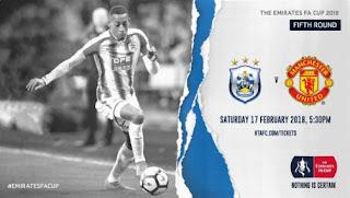 Huddersfield Town vs Manchester United Piala FA