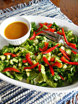 Carrot Ginger Salad Dressing.