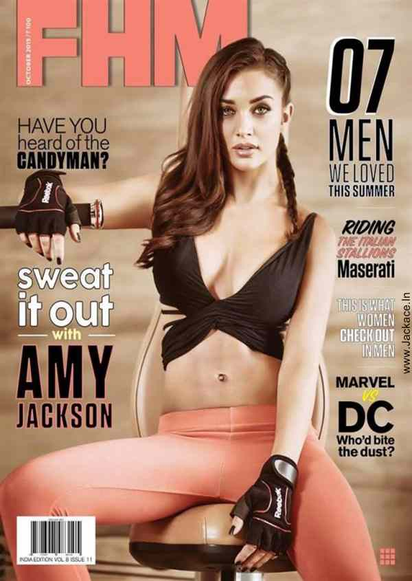 Super Hot Amy Jackson On The Cover Of FHM Magazine