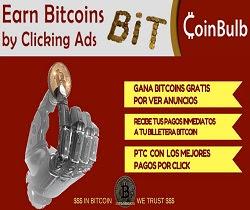 CoinBulb Gana satochis viendo anuncios