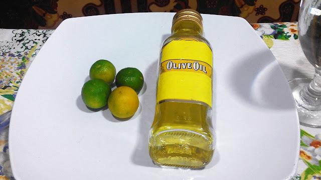 olive oil kalamansi balakubak