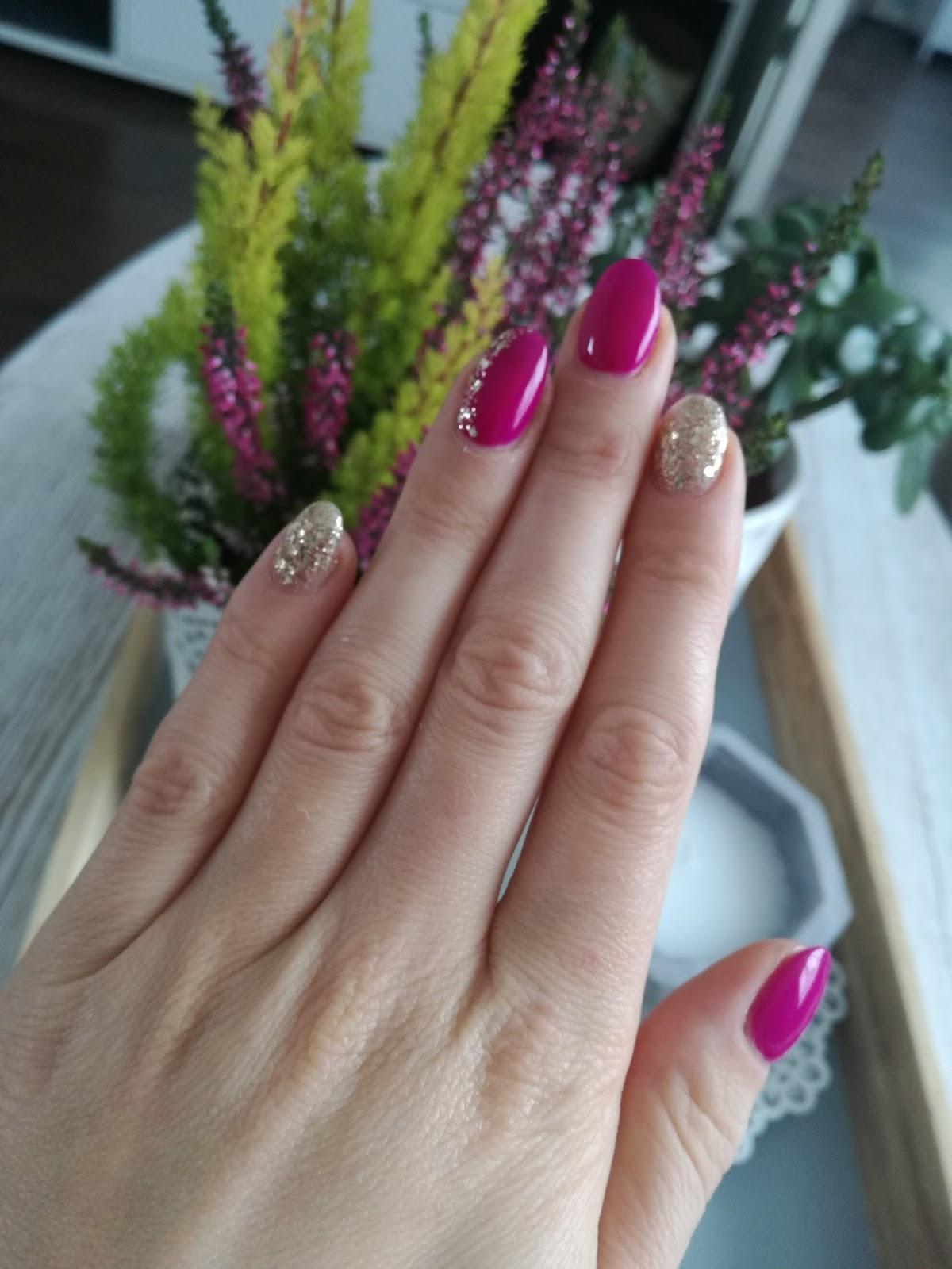 semilac mardi gras jesienne paznokcie