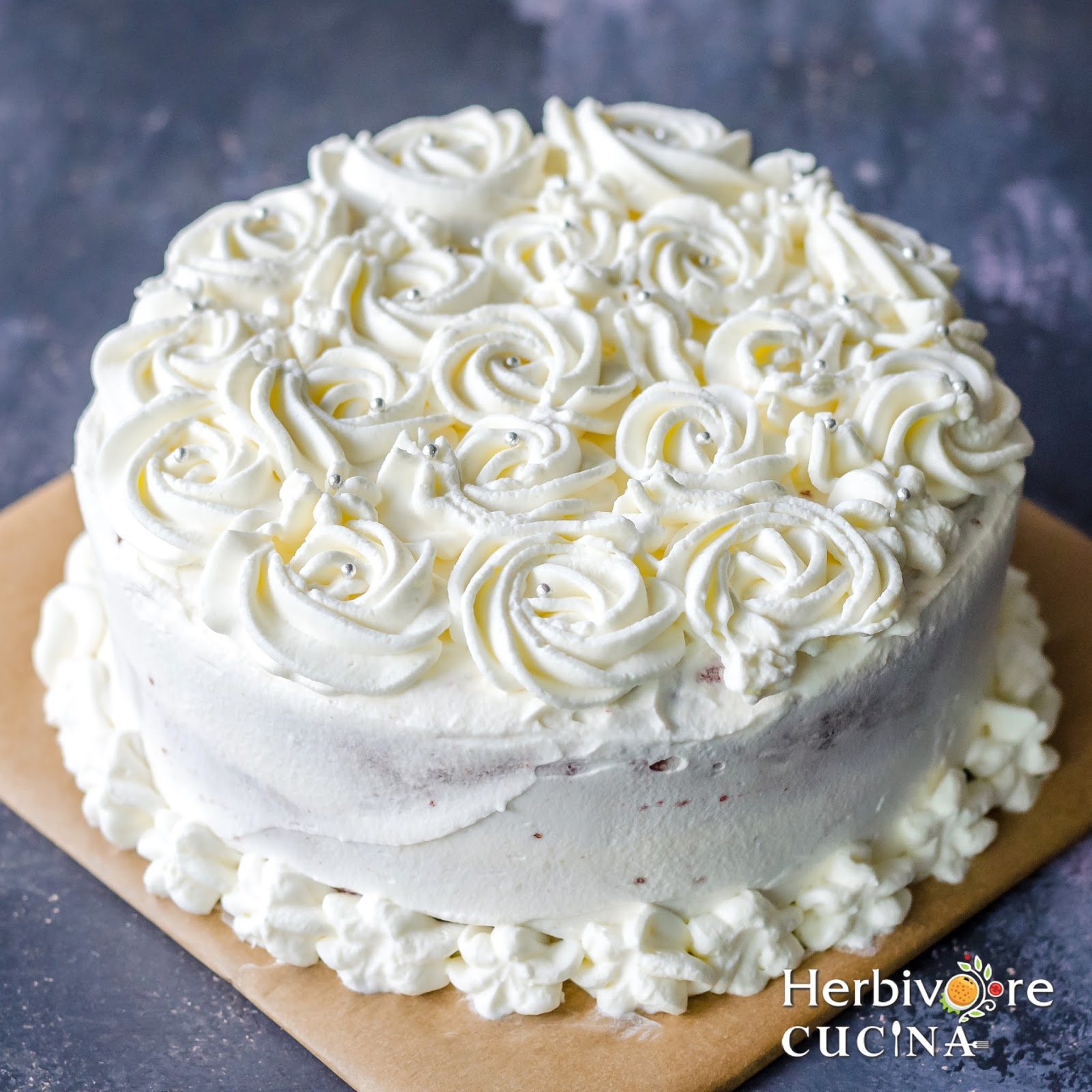 Cake Icing Using Whipping Cream