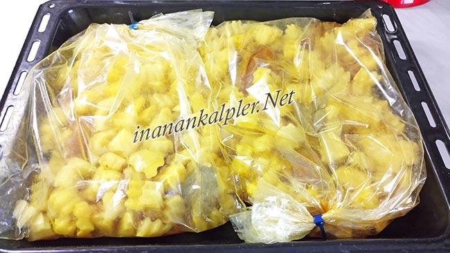 Fırın Poşetinde Patatesli Tavuk Baget Yapılışı - www.inanankalpler.net