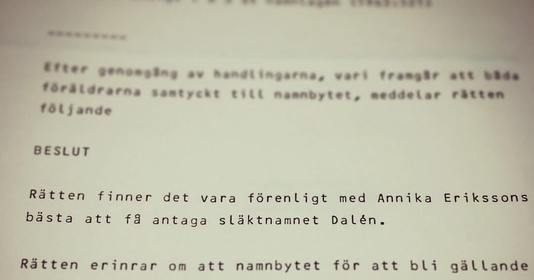 Efternamn Sverige