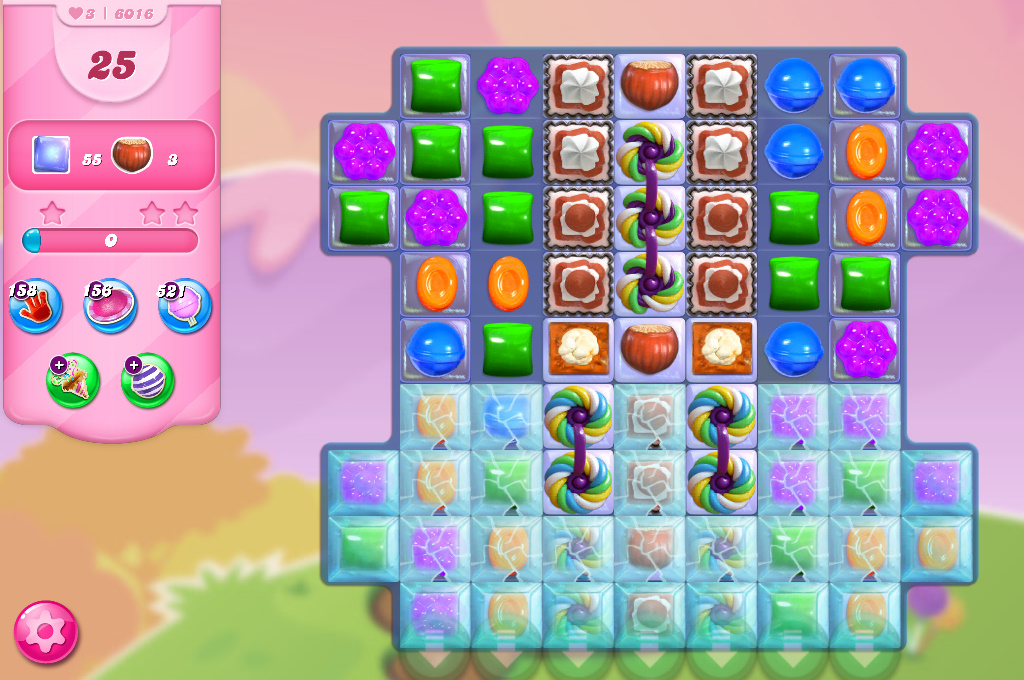 Candy Crush Saga level 6016