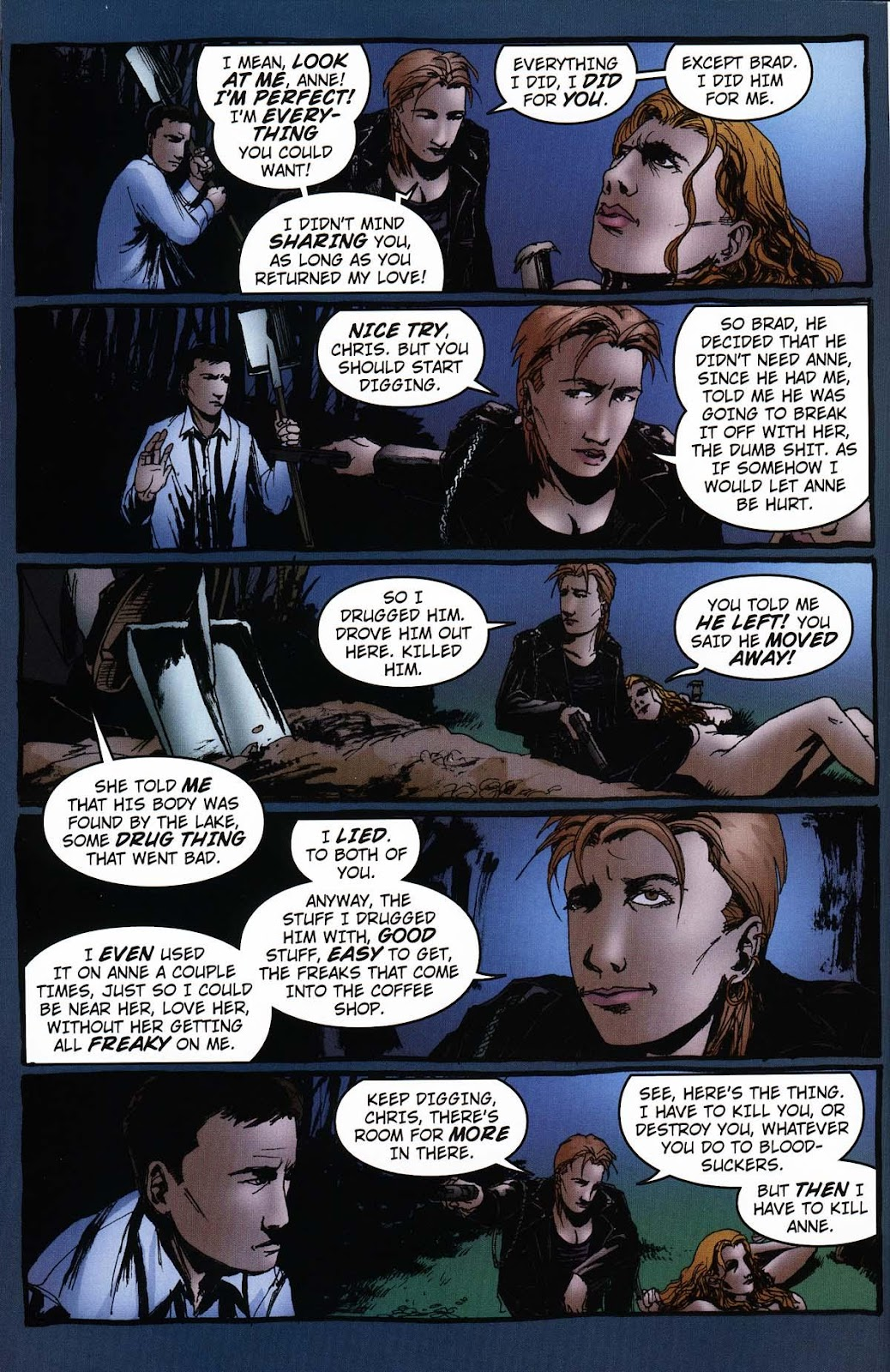 Read online Vampire the Masquerade comic -  Issue # Ventrue - 44