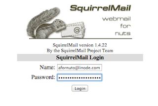 Squirrelmail di Ubuntu