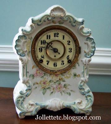 Ansonia mantel clock  https://jollettetc.blogspot.com