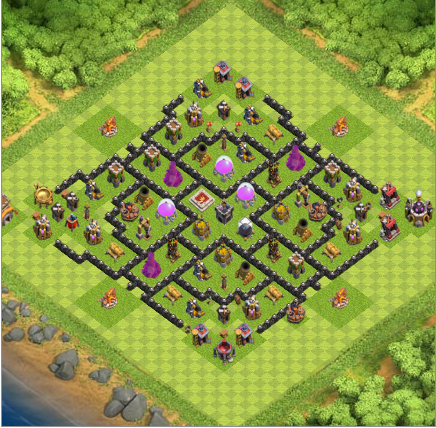 Strategi Ampuh COC (Clash Of Clans) Town Hall 8