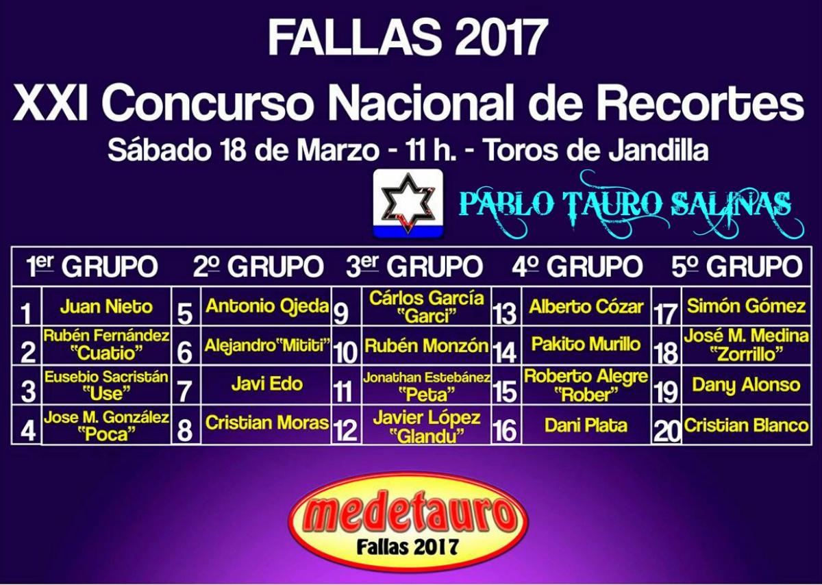 PABLO TAURO SALINAS: marzo 2017