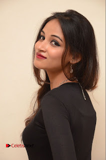 Actress Sana Pictures in Floral Skirt at Neerajanam Audio Launch  0010.JPG