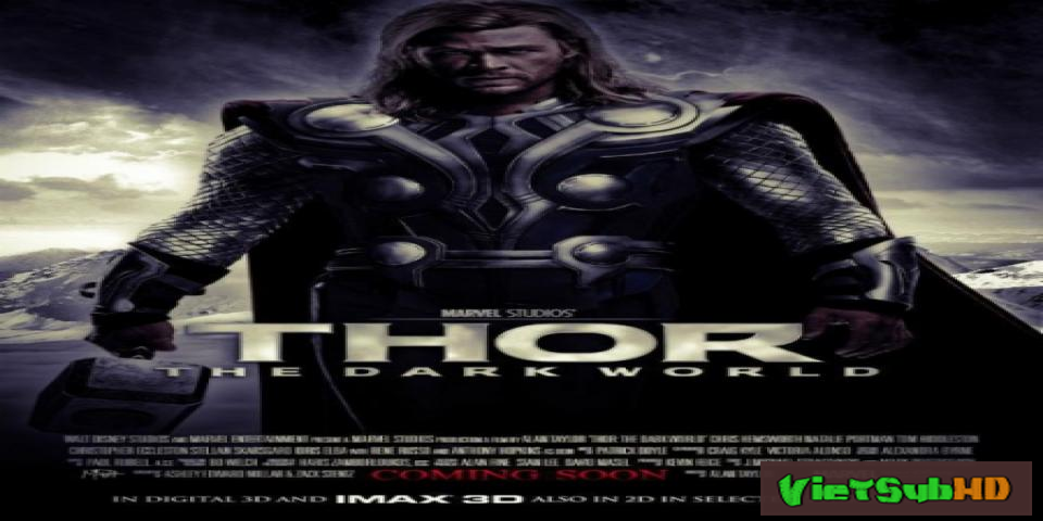 Phim Thần Sấm 2: Thế Giới Bóng Tối VietSub HD | Thor 2: The Dark World 2013