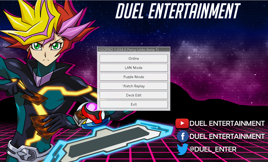 YGOPRO Percy - Ver  Duel Entertainment - Duel Entertainment