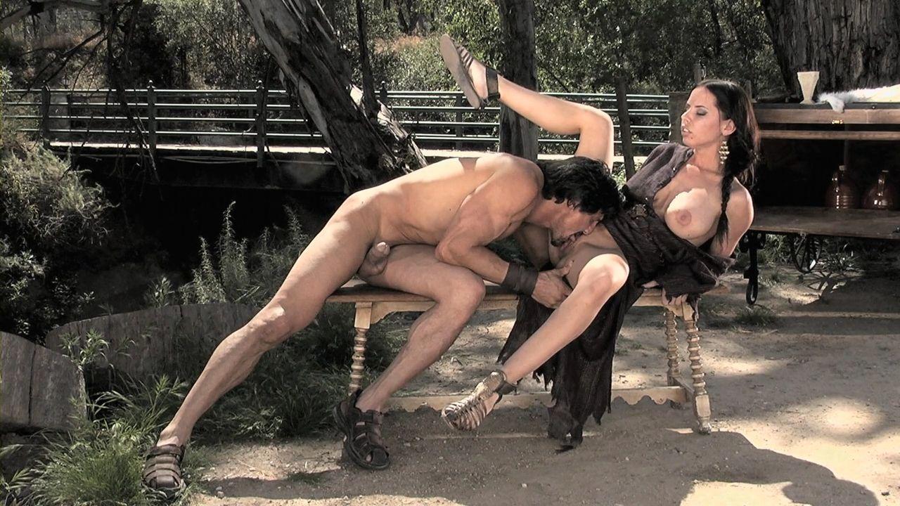 Порно конон-варвар