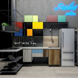 Consigli per la casa e l 39 arredamento cucine colorate giovani e moderne stosa cucine - Cucine moderne colorate ...