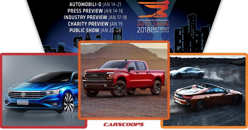2018 Detroit Auto Show Naias A To Z Debuts
